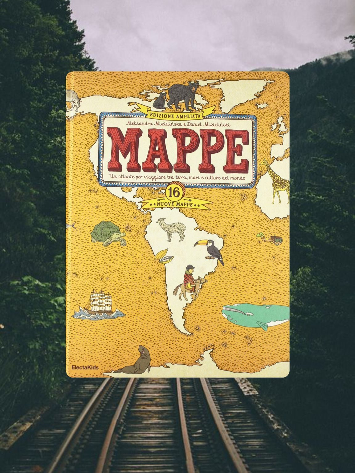 copertina mappe atlante per viaggiare tra terra,mari e culture del mondo